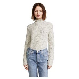 Joie Adaliz ruffle neck sweater size XS